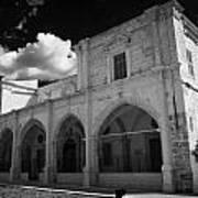 St Josephs Convent And Catholic Church St Joseph De L Apparition Larnaca Republic Of Cyprus Art Print by Joe Fox