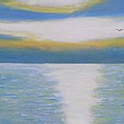 St Lawrence River Eagle Art Print