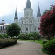 St. Louis Cathedral Ll Art Print