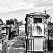 St Louis Cemetery - New Orleans Art Print