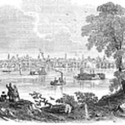 St. Louis, Missouri, 1854 Art Print