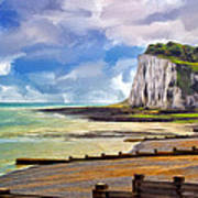 St. Margaret's Bay At Dover Art Print