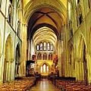 St. Patricks Cathedral, Dublin, Ireland Art Print