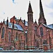 St. Paul S Episcopal Cathedral Art Print