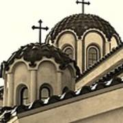 St Piasius Art Print