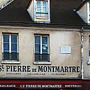 St Pierre De Montmartre Paris Scene Art Print