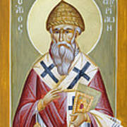 St Spyridon Print by Julia Bridget Hayes