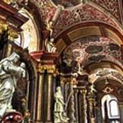 St Stanislaus Church - Posnan Poland Art Print
