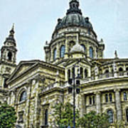 St Stephen Basilica   Budapest Art Print