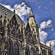 St Stephens Cathedral - Vienna Art Print