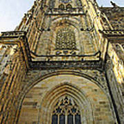 St Vitus Cathedral Prague - The Realms Of 'non-being' Art Print