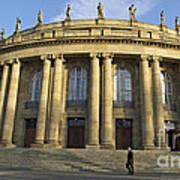 Staatstheater State Theater Stuttgart Germany Art Print