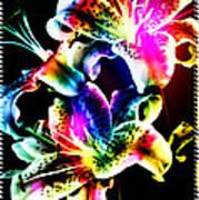Stack Of Stargazers Dreaming Art Print