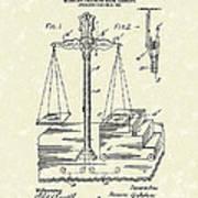Stage Illusions 1906 Patent Art Art Print by Prior Art Design