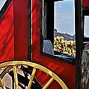 Stagecoach View Art Print