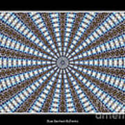 Stained Glass Kaleidoscope 32 Art Print