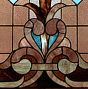 Stained Glass Lc 06 Art Print