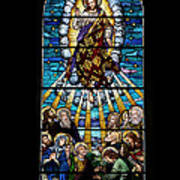 Stained Glass Pc 01 Art Print