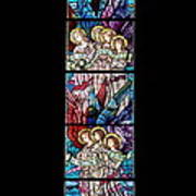 Stained Glass Pc 07 Art Print