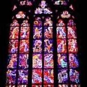 Stained Glass Window II Art Print