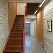 Staircase In Old Building Art Print