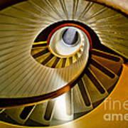 Stairs Stares Art Print