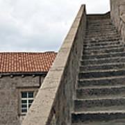Stairway In Dubrovnik Art Print by Madeline Ellis