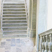 Stairway In Radovlica Art Print