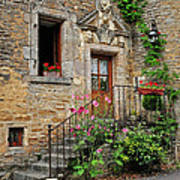 Stairway Provence France Art Print