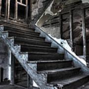 Stairway To Ruin Art Print