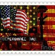 Stamp Your Freedom  Art Print