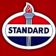 Standard Oil Sign Art Print