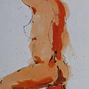Standing Nude Art Print
