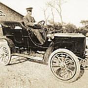 Stanley Steamer Car, 1906 Art Print