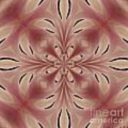 Star Magnolia Medallion 2 Art Print