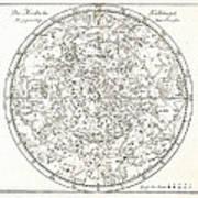 Star Map, 1805 Art Print by Detlev Van Ravenswaay