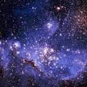 Stars And The Milky Way Art Print