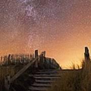 Stars In A Night Sky Art Print