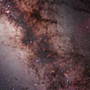 Stars, Nebulae And Dust Clouds Art Print