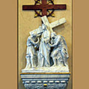 Station Of The Cross 02 Art Print