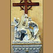 Station Of The Cross 03 Art Print