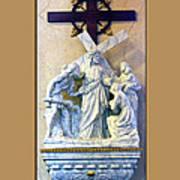 Station Of The Cross 08 Art Print