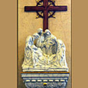 Station Of The Cross 14 Art Print