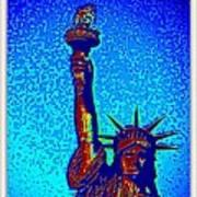 Statue Of Liberty-4 Art Print