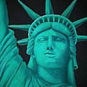 Statue Of Liberty ... Art Print