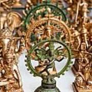 Statues For Sale Of Hindu Gods Art Print
