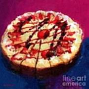 Stawberry Sin Art Print