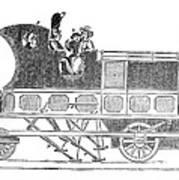 Steam Coach Art Print
