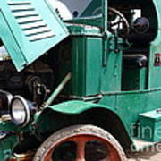 Steam Powered Truck 7d15099 Art Print by Wingsdomain Art and Photography
