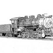 Steam Switcher Number 1894 Art Print